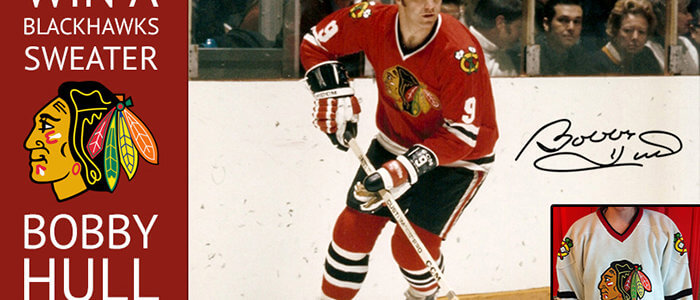 Bobby Hull Sweater Giveaway