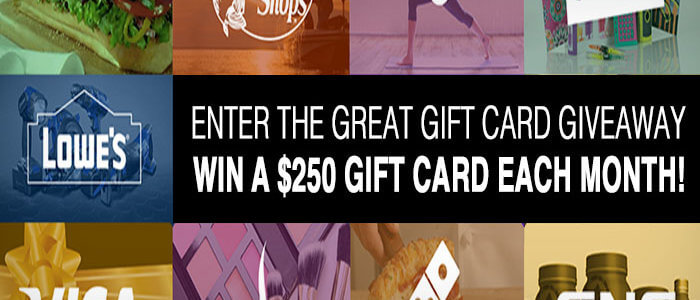 Great Giftcard Giveaway