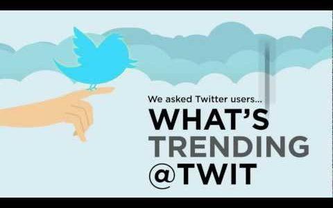 Twitter – What's Trending?